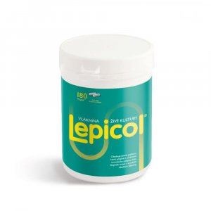 LEPICOL kapsle 180 tablet