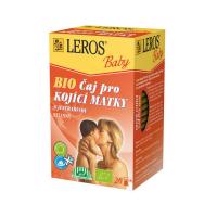 LEROS BABY Čaj pro kojící matky s jestřabinou 20 sáčků BIO