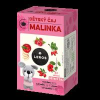 LEROS Dětský čaj Malinka 20 sáčků