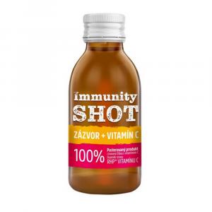 LEROS Immunity shot zázvor + vitamín C 150 ml