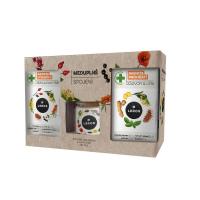 LEROS Imunita meduplné spojení bylinný čaj 2 x 20 sáčků + med 200 g