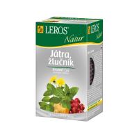 LEROS NATUR Játra, žlučník 20 sáčků
