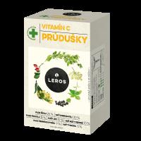 LEROS Vitamin C průdušky 20 sáčků