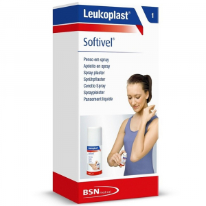 LEUKOPLAST Softivel Spray Plaster náplast 30 ml