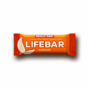 LIFEFOOD Lifebar meruňková tyčinka BIO 47 g