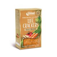 LIFEFOOD Life Crackers zeleninové bez soli 90 g BIO