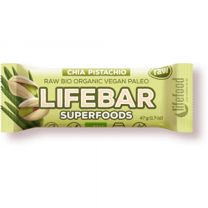 LIFEFOOD Superfoods s chia semínky a pistáciemi 47 g BIO