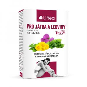LIFTEA pro játra a ledviny 30 tobolek