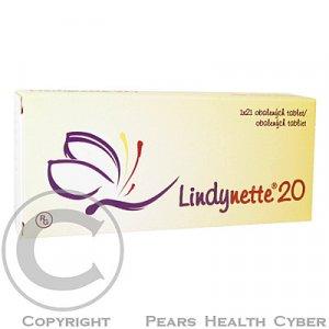 LINDYNETTE 20  1X21 Obalené tablety