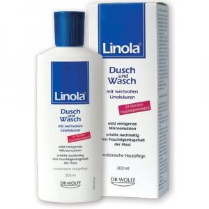 LINOLA Shower and Wash sprchový a mycí 300 ml