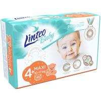 LINTEO Baby Premium Dětské plenky MAXI+ 10-17kg 46 ks