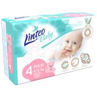 LINTEO Baby Premium Dětské plenky MAXI 8-15kg 50 ks