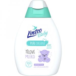 LINTEO Baby Tělové mléko s Bio měsíčkem lékařským 250 ml