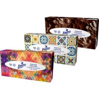 LINTEO Papírové kapesníky 2-vrstvé BOX 100 ks