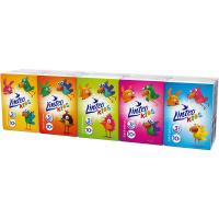 LINTEO Kids Papírové kapesníky 3-vrstvé Mini 10x10 ks