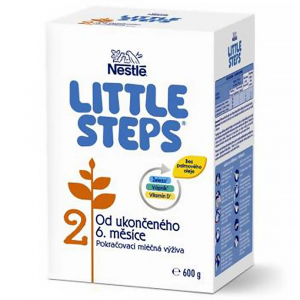 LITTLE STEPS 2 Pokračovací mléčná výživa 600 g