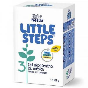 LITTLE STEPS 3 Pokračovací mléčná výživa 600 g