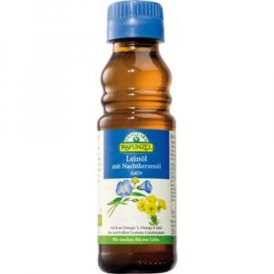 RAPUNZEL Lněný olej lisovaný za studena s pupalkou 100 ml BIO