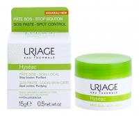 URIAGE Lokální péče na noc proti nedokonalostem aknózní pleti Hyséac (SOS Paste Local Skin-Care) 15 ml