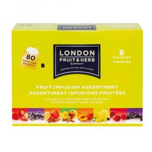 LONDON HERB Fruit & Herb směs ovocných čajů 8x10 sáčků
