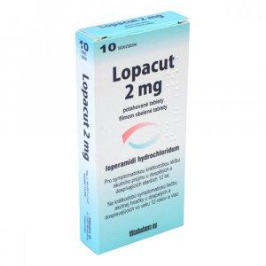 LOPACUT 2 mg 10 potahovaných tablet