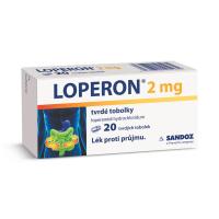 LOPERON 2mg 20 tobolek