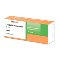 LORATADIN Ratiopharm 10 mg 30 tablet