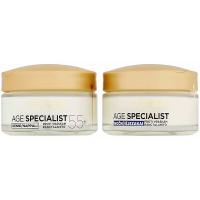 L´OREAL Age Specialist 55+ Duopack denní+noční krém 2x50 ml