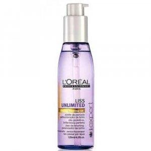 L'ORÉAL Expert Liss Unlimited olej pro uhlazení nepoddajných vlasů 125 ml
