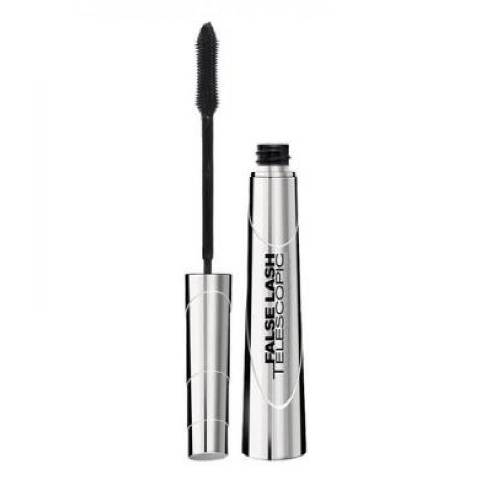 L'Oréal Paris Telescopic False Lash Infinite Length Effect Fiber řasenka Magnetic Black 9 ml
