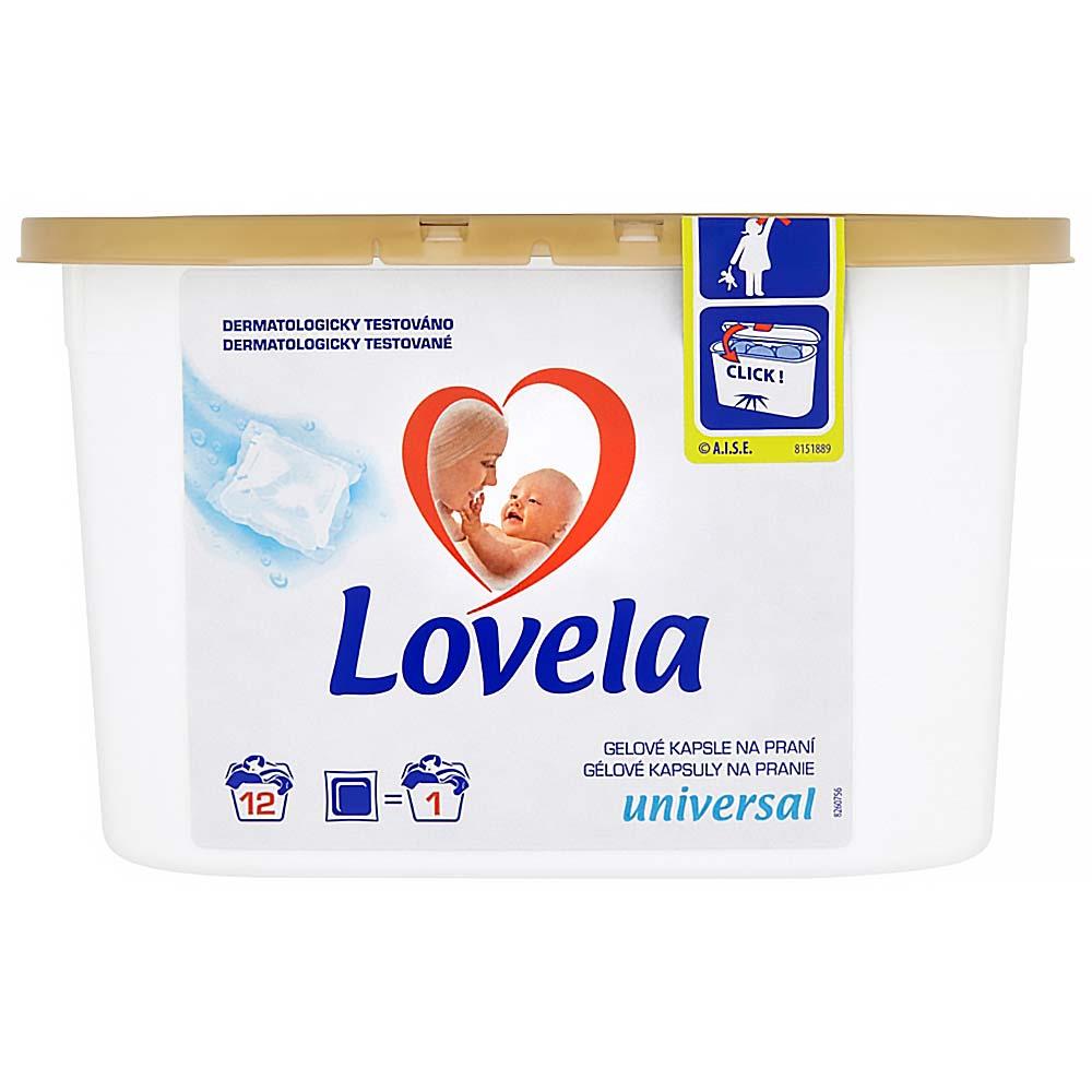 LOVELA Universal gelové kapsle na praní 12 ks