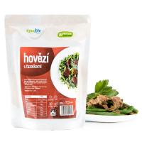 KETOLIFE Low carb hotové jídlo hovězí s fazolkami 300 g