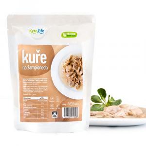 KETOLIFE Low carb hotové jídlo kuře na žampionech 300 g