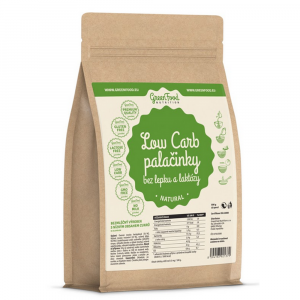 GREENFOOD NUTRITION Low carb palačinky bez lepku a laktózy natural 500 g