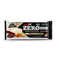 AMIX Zero hero 31% protein bar vanilka a mandle 65 g
