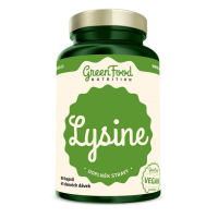 GREENFOOD NUTRITION Lysin 90 kapslí