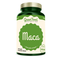 GREENFOOD NUTRITION Maca 120 kapslí