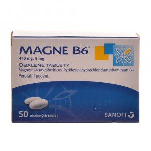 SANOFI Magne B6 50 obalené tablety