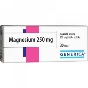 GENERICA Magnesium 250 mg 30 tablet