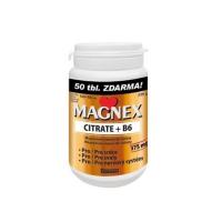 MAGNEX Citrate 375 mg a vitamin B6 100+50 tablet VÝHODNÉ balení