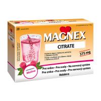 MAGNEX Citrate 375 mg powder 20 sáčků