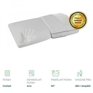 MAGNIFLEX Superiore Deluxe Standard zdravotní polštář 72x42x12