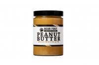 BEAR FOOT Peanut Butter, jemný arašídový krém s mléčnou čokoládou, 550 g