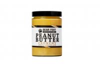 BEAR FOOT Peanut Butter, arašídový krém s bílou čokoládou a kousky arašídů, 550 g