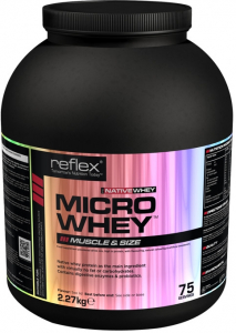 REFLEX NUTRITION Micro whey native vanilka 2,27 kg