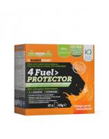 NAMEDSPORT 4 Fuel Protector 14x8,5g tréninkové pití s aminokyselinami a vitaminy s příchutí pomeranč - citron
