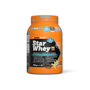 NNAMEDSPORT Star Whey Proteinový nápoj v prášku Cheesecake citronový 750 g