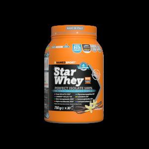 NAMEDSPORT Star Whey Proteinový nápoj v prášku Sušenky-smetana 750 g