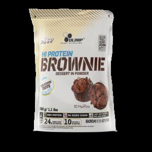OLIMP Hi  Protein Brownie směs na výrobu muffinů Čokoláda 500 g