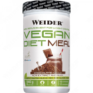 WEIDER Vegan dietní čokoládové jídlo 540 g